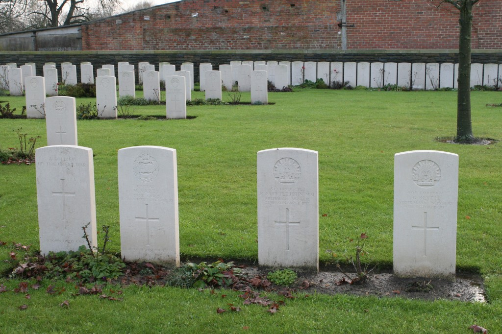Menin Road South Military Cemetery
