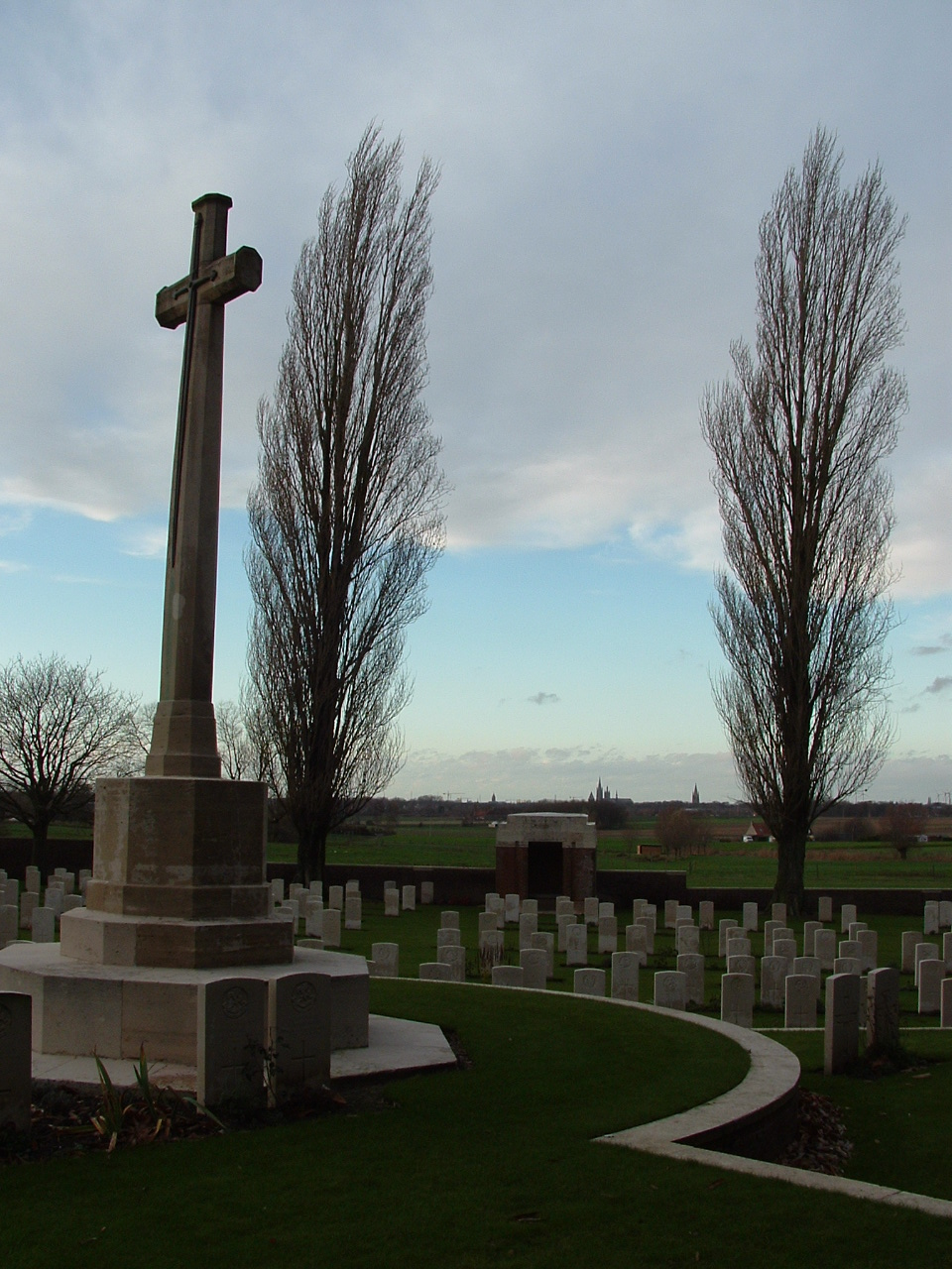 A Tour of Zillebeke Part Seven – Woods Cemetery | With the British ...