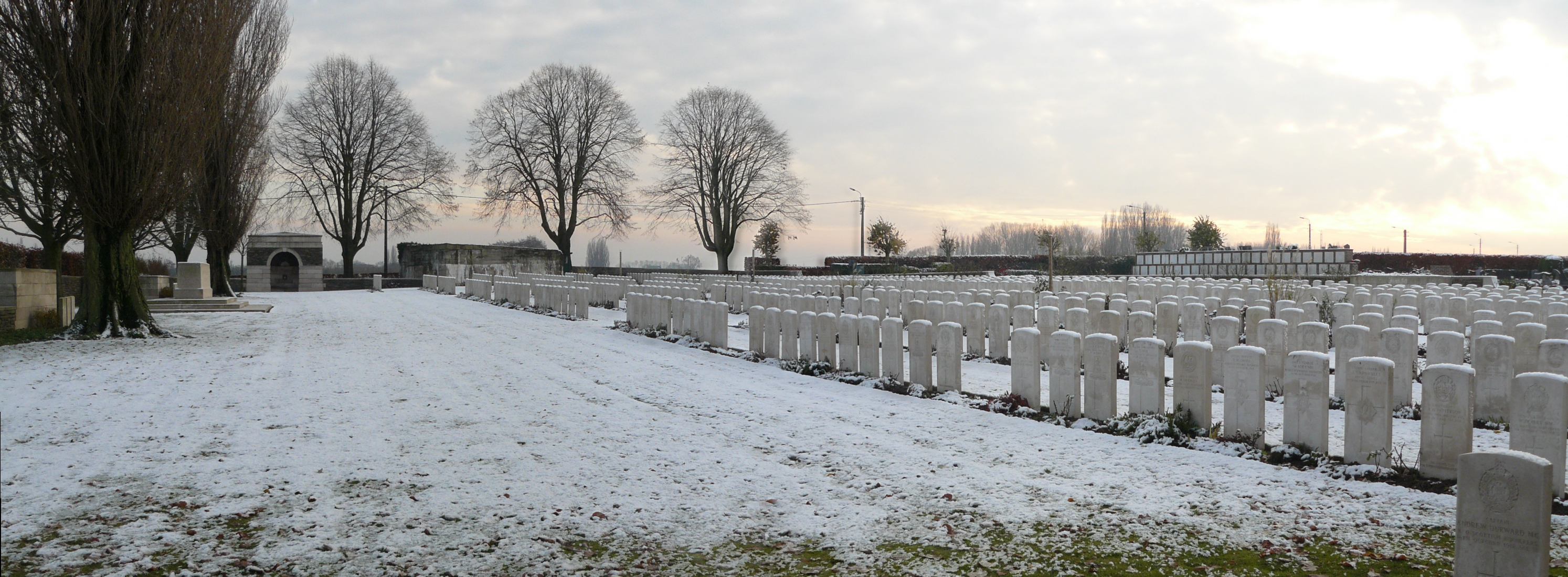 The Advance East Part One – Dadizeele New British Cemetery | With ...