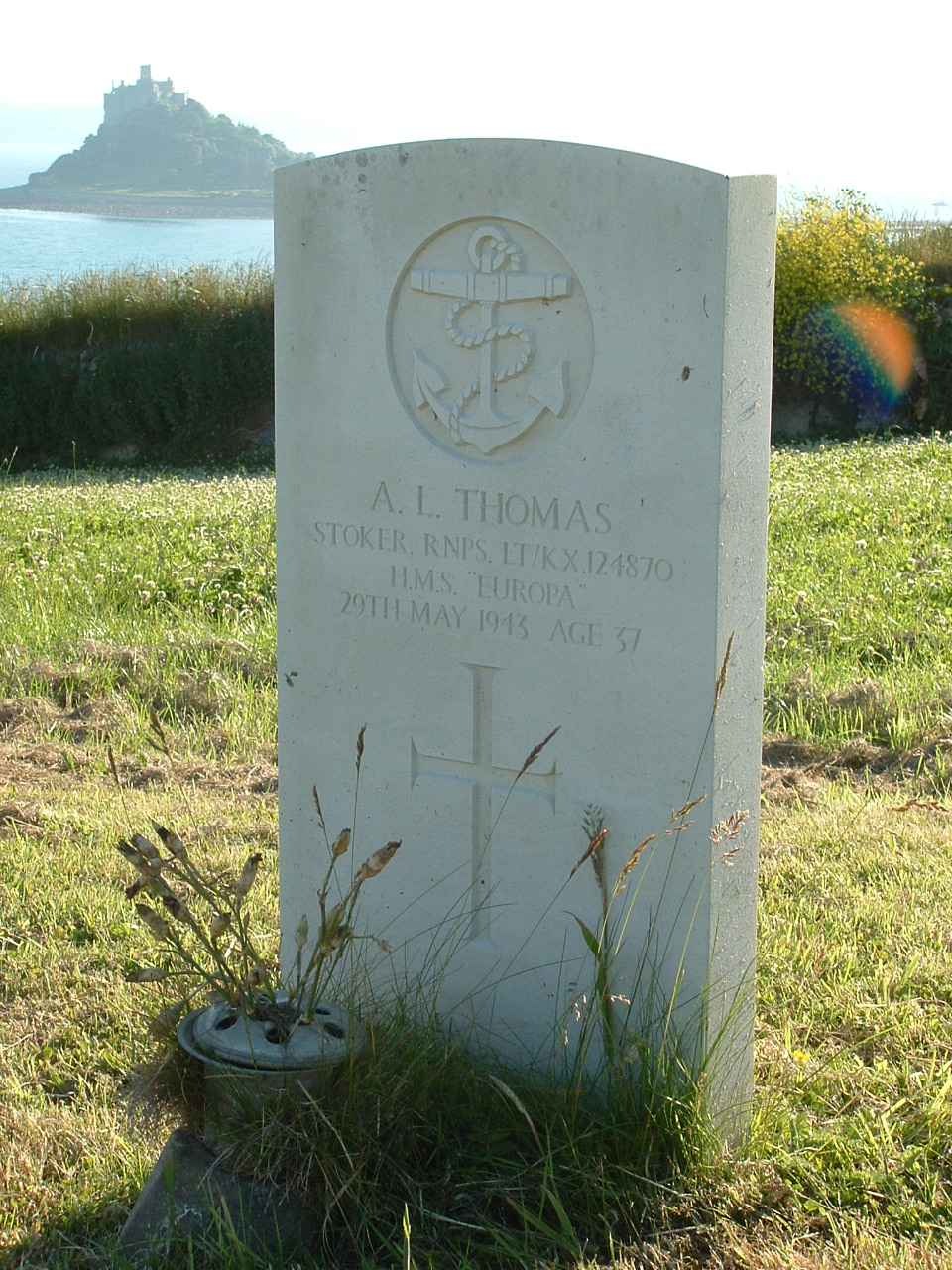 Marazion Cemetery & War Memorial | With the British Army in Flanders ...
