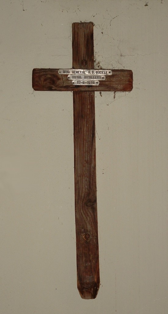Buckle Wooden Cross