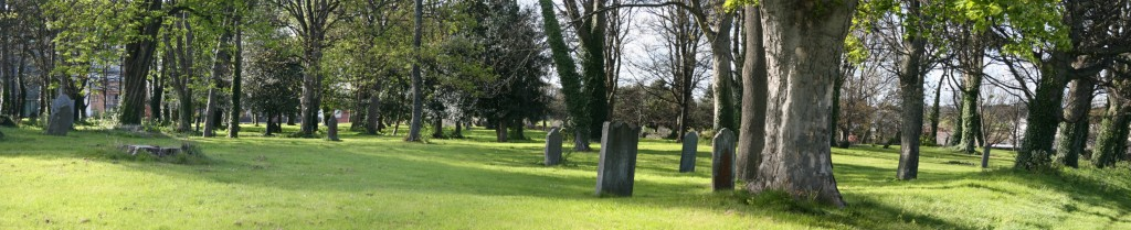 Royal Hospital Burial Grounds Panorama
