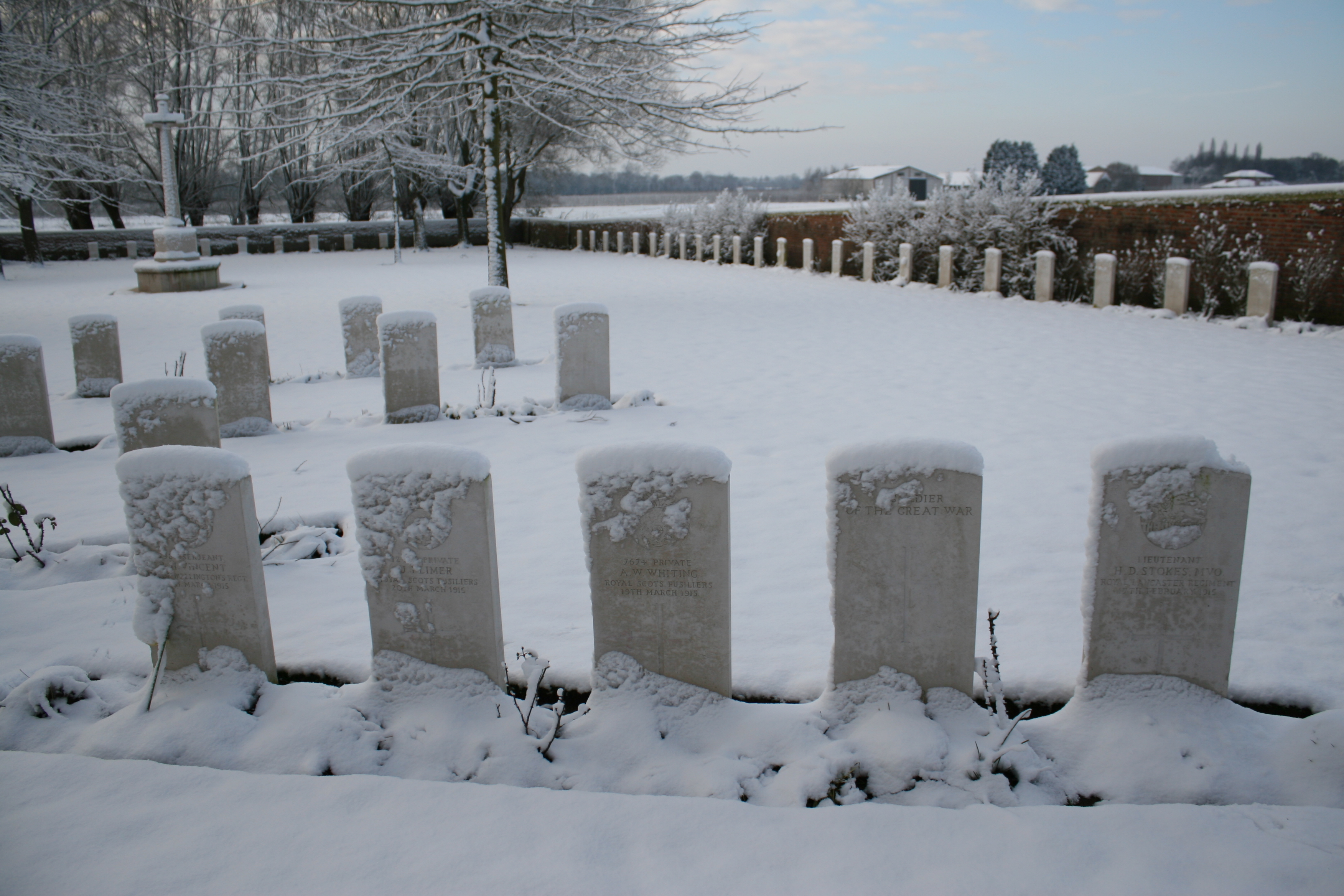 A Tour of Zillebeke Part Eleven – Tuileries British Cemetery | With ...