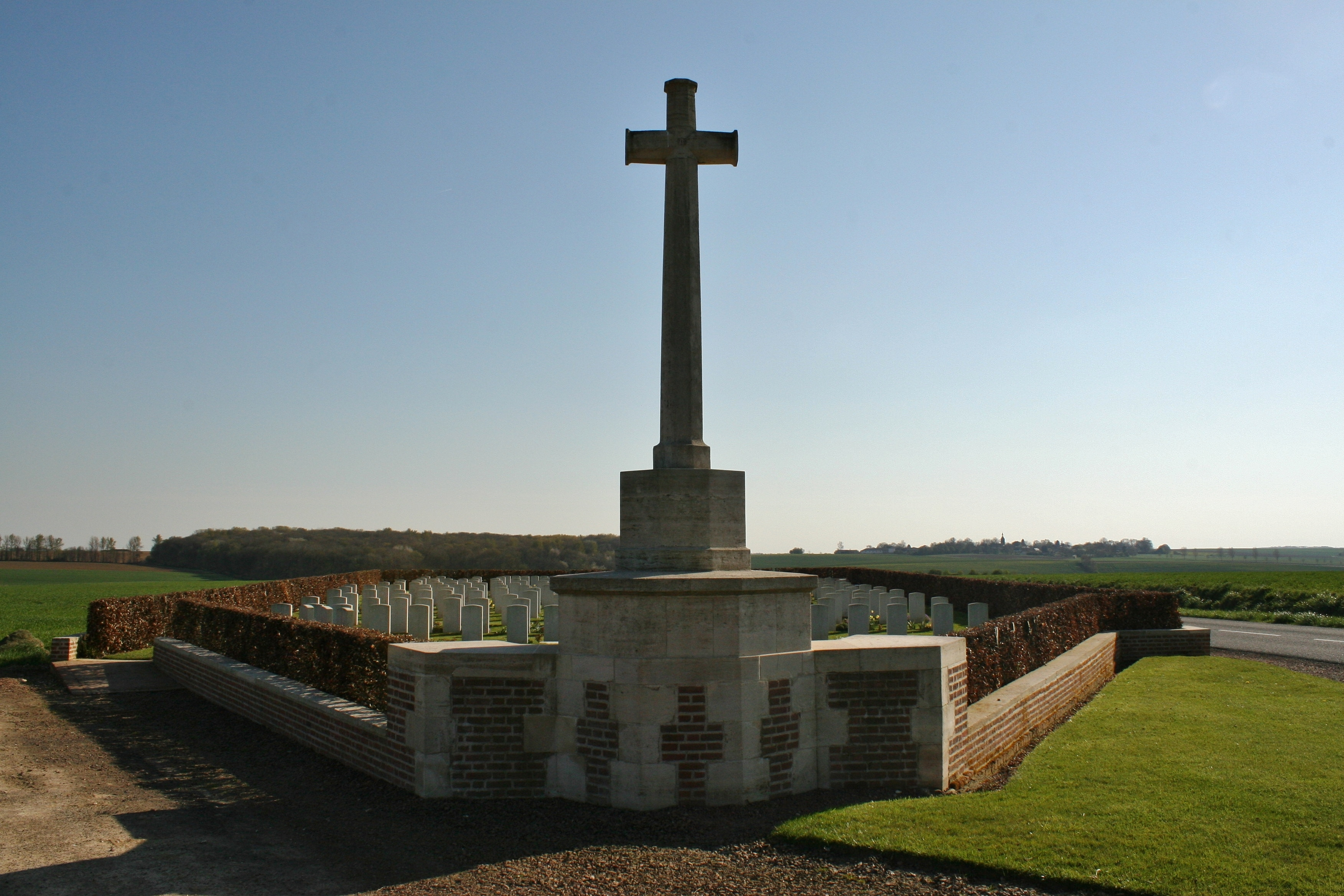 Longueval Road Cemetery | With the British Army in Flanders & France