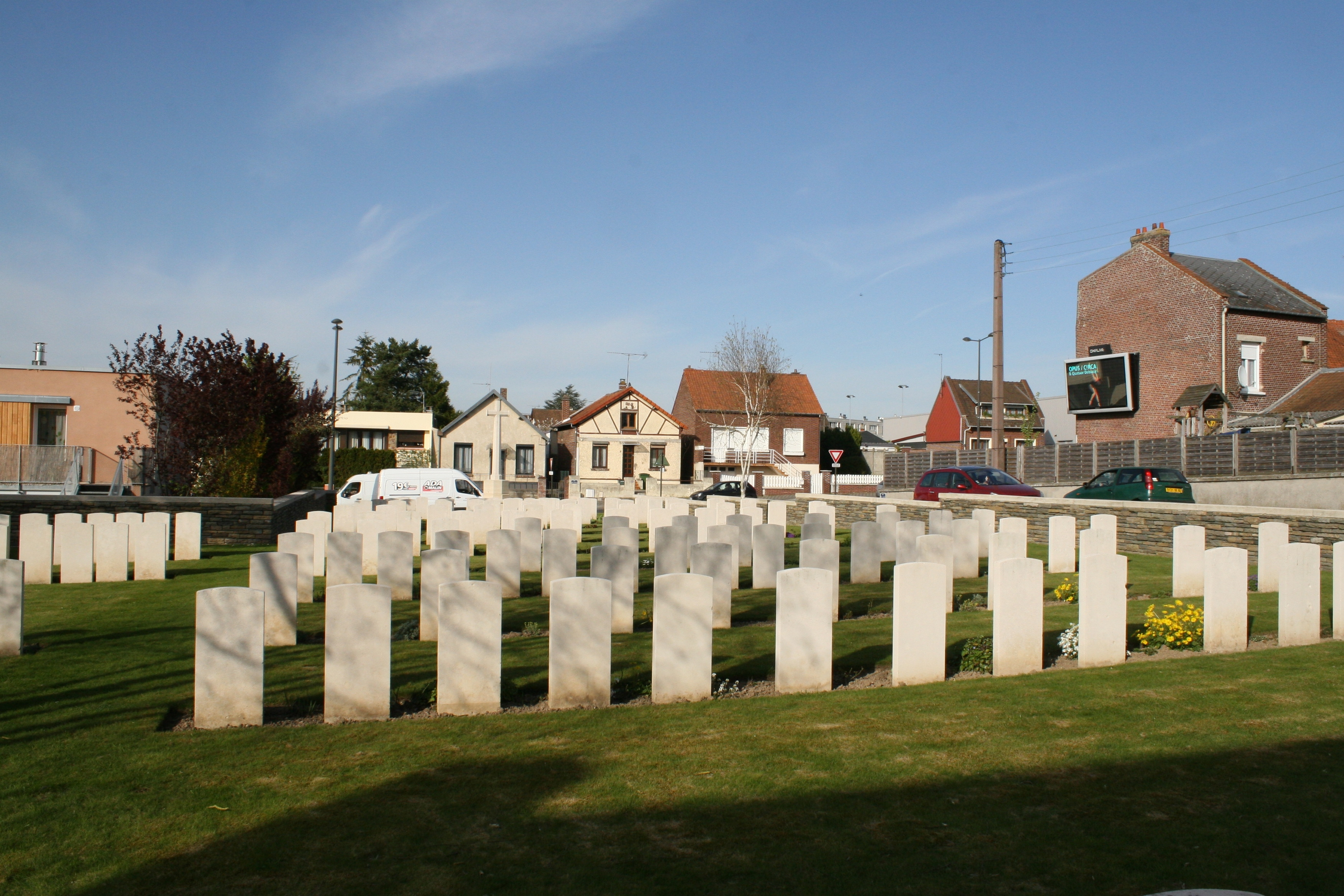Amiens – Longueau British Cemetery | With the British Army in ...