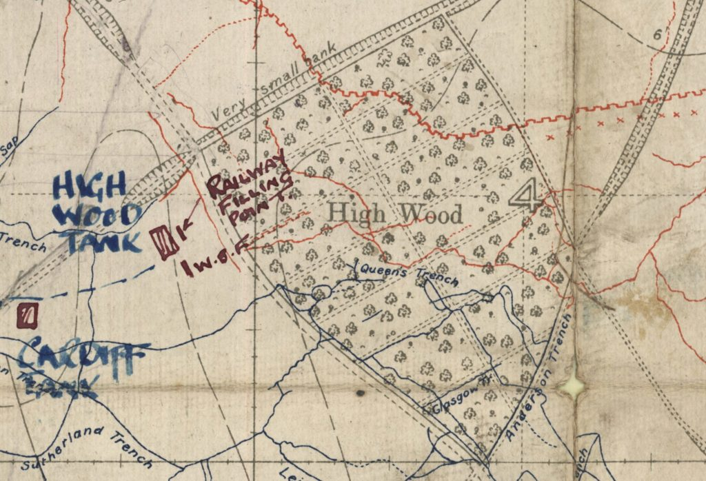 High Wood 18 August 1916
