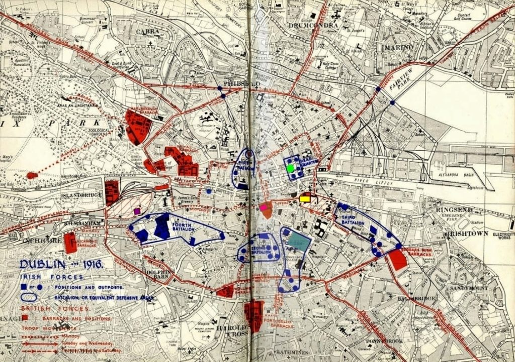 dublin-1916-map-gpo-castle-trinity-st-stephens-hospital
