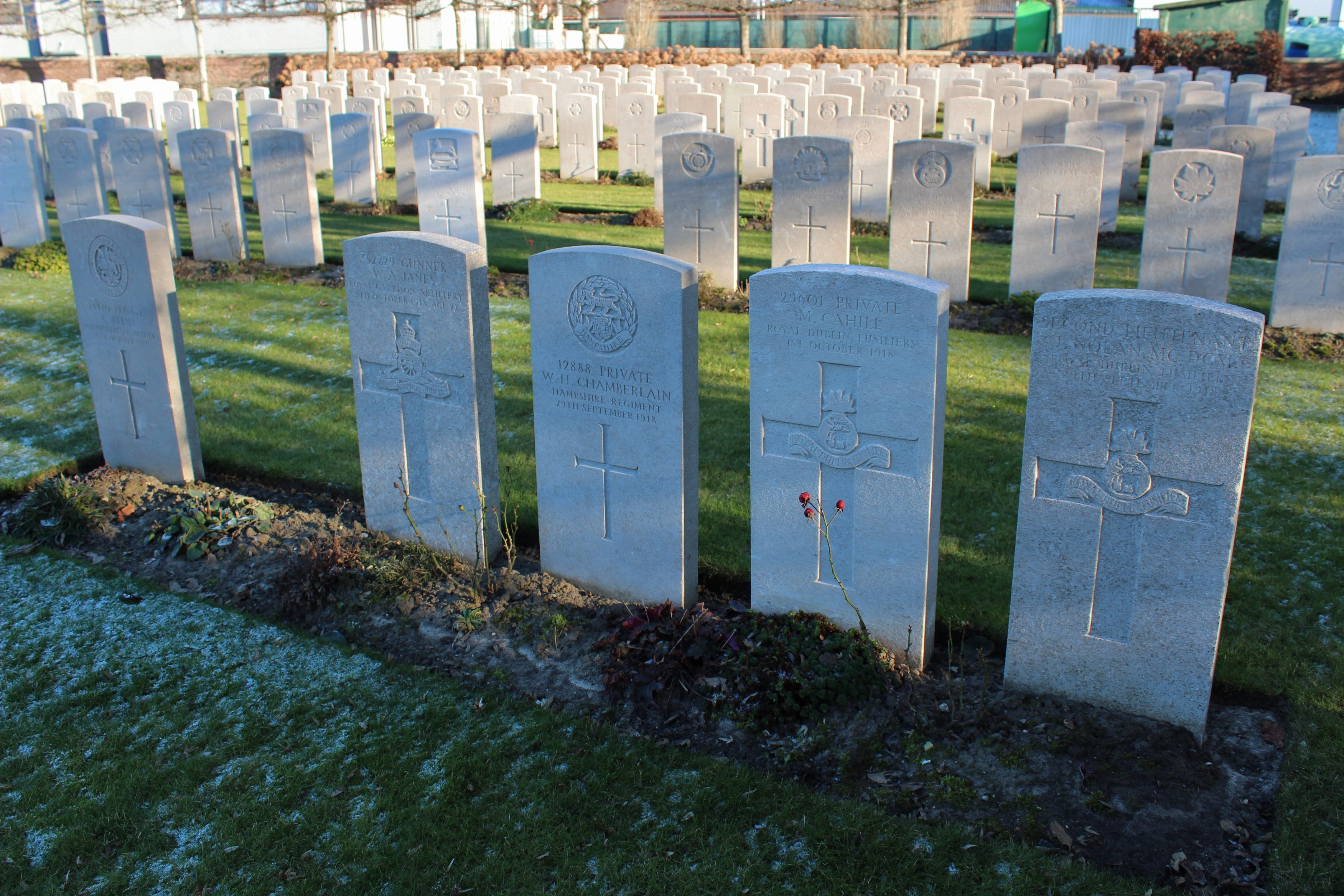 The Menin Road – A Return to Birr Cross Roads Cemetery | With the ...