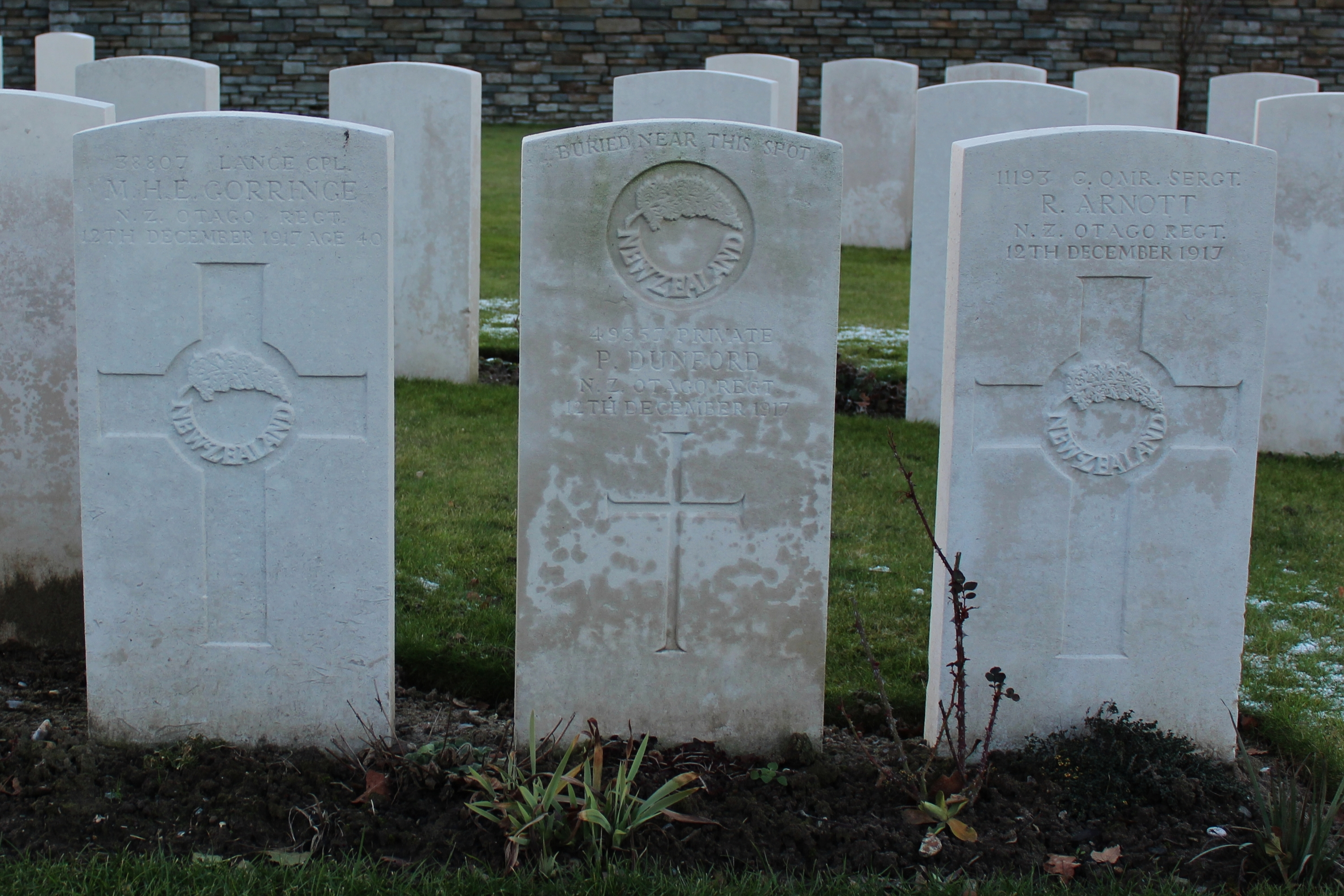 Polygon Wood Cemetery | With the British Army in Flanders & France