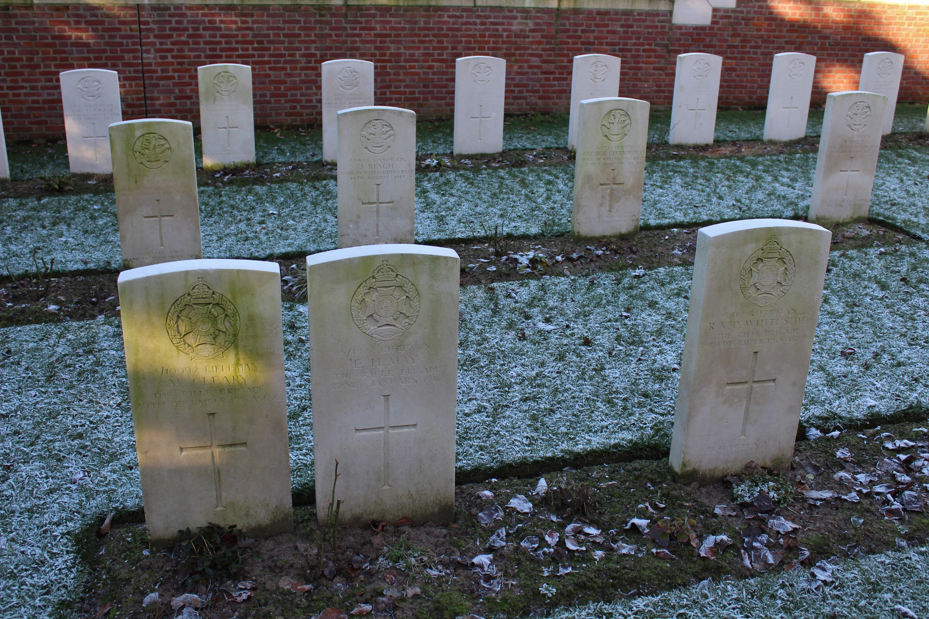 A Tour of Boesinghe Part Nineteen – Colne Valley Cemetery (Part Two ...