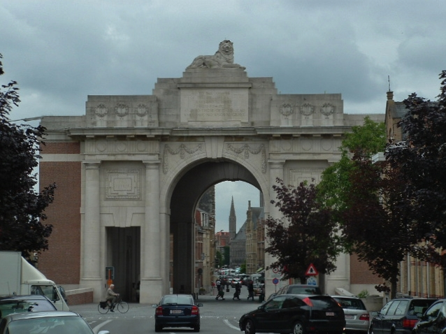 The menin gate lions with the british army in flanders france well heres a photo taken back in 2008 and its fair to say that not only were the environs of the memorial somewhat chaotic back then but there was only freerunsca Image collections
