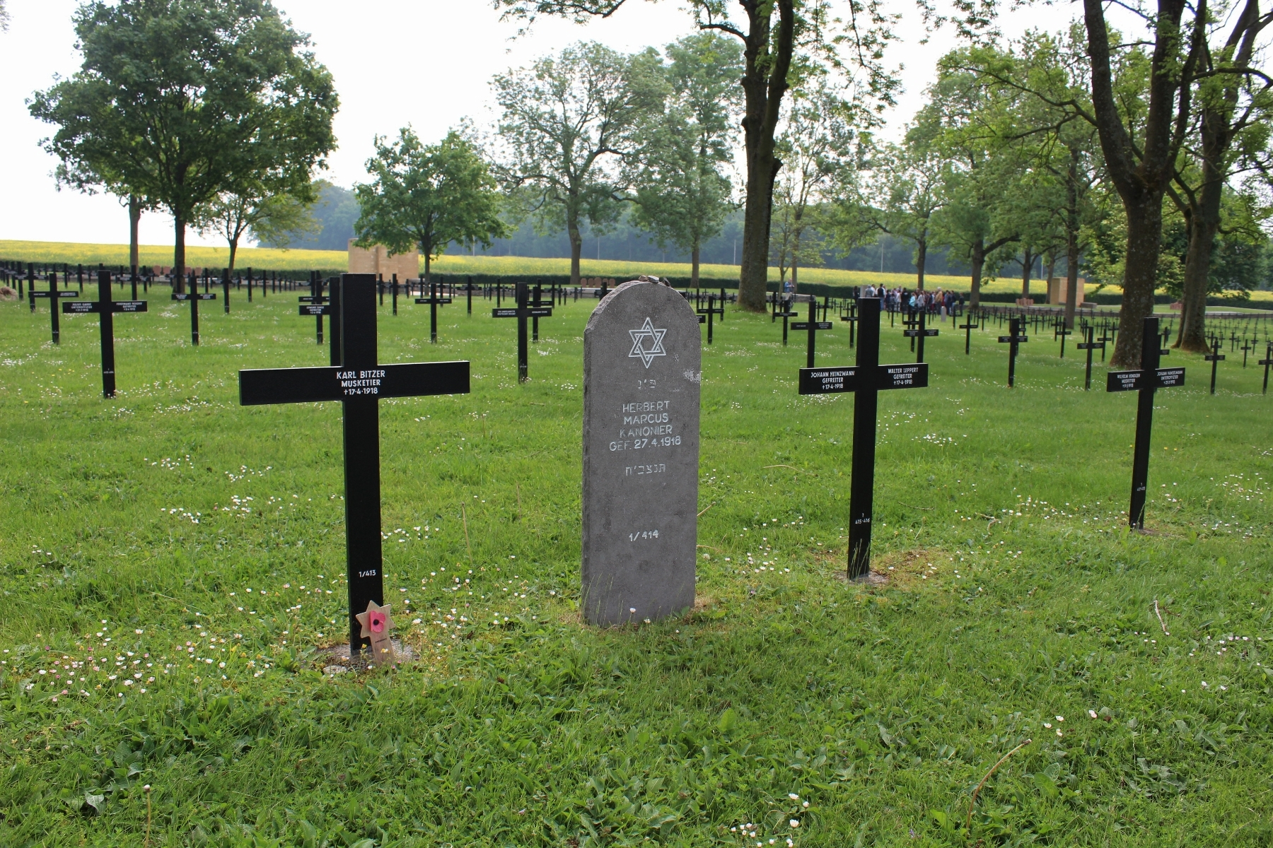 The Somme – Fricourt German Military Cemetery | With the